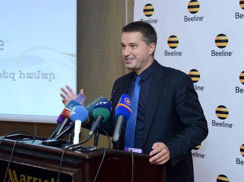 Հայաստանում Beeline-ի Գլխավոր տնօրեն Անդրեյ Պյատախինը ճանաչվել է  «Տարվա լավագույն ղեկավար»
