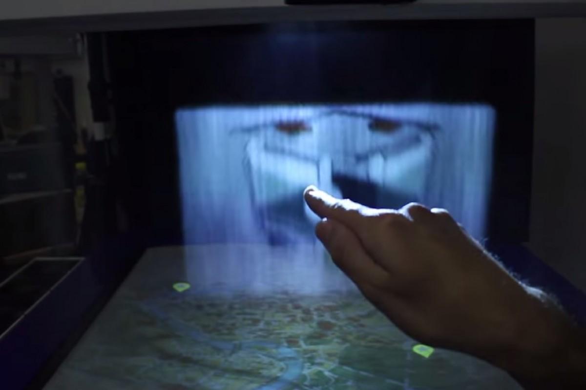 Ներկայացվել է Mistable էկրանը, որը պատկերն արտացոլում է մշուշի վրա