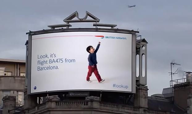 British Airways-ի «Կախարդական գովազդային ցուցանակներն» արժանացել են «Գրան Պրի» մրցանակի