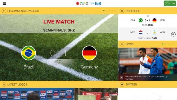 CBC FIFA World Cup հավելվածի ներբեռնումների քանակը հատել է մեկ միլիոնի սահմանը