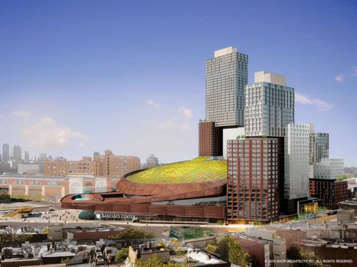 Barcley's Center մարզադաշտի տանիքը կանաչապատվելու է
