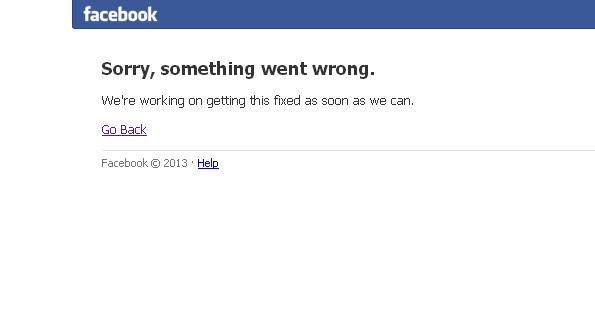 Facebook-ն ամբողջ աշխարհում մոտ 20 րոպե չէր աշխատում