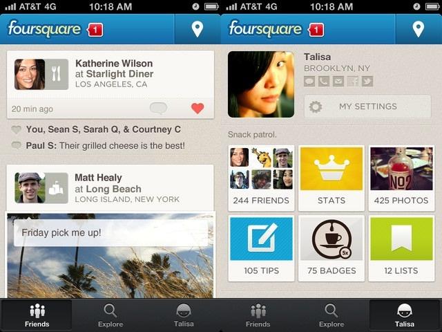 Foursquare ծառայությունն iPad-ի համար հավելված է թողարկել