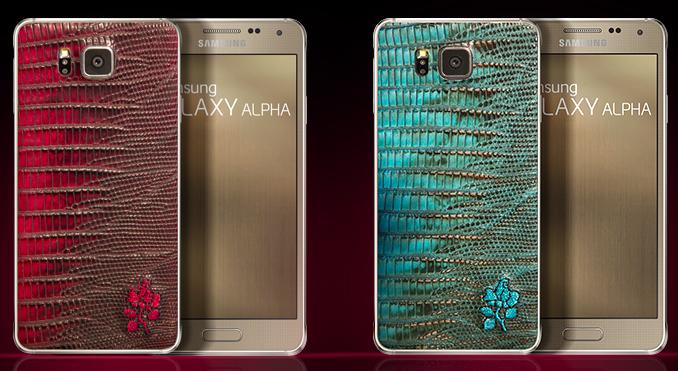 Թողարկվել է Samsung Galaxy Alpha-յի կաշվե պատյանով տարբերակը