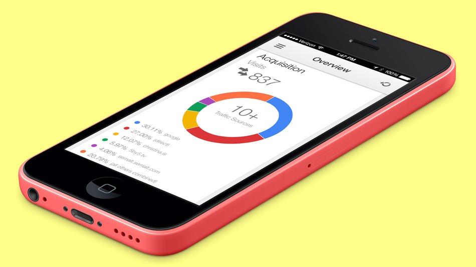 Google Analytics հավելվածը վերջապես հասանելի է նաև iPhone-ի համար
