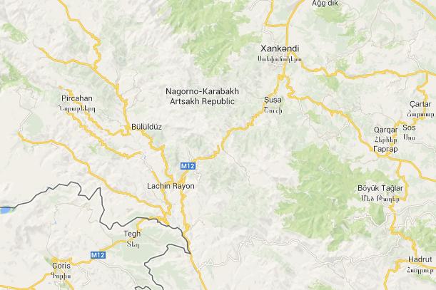Google Maps-ն Արցախը ճանաչել է որպես անկախ հանրապետություն