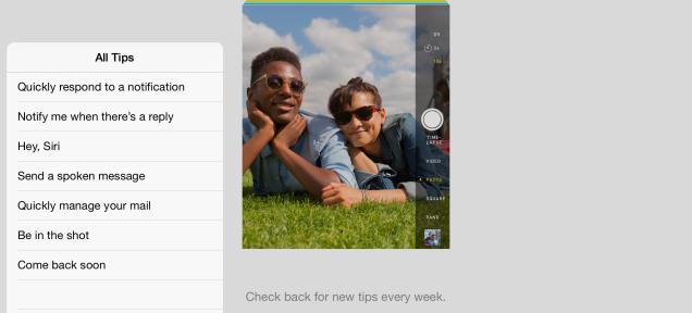 iOS 8-ի նոր հավելվածը սովորեցնում է, թե ինչպես է պետք օգտվել iPhone-ից