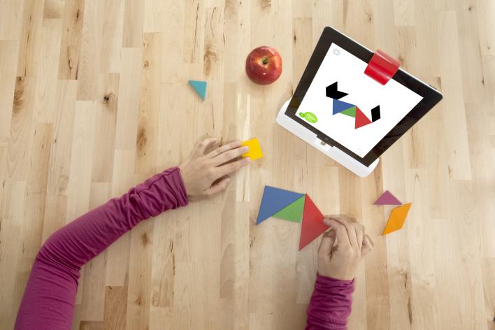 Osmo. Հավելված, որը միավորում է մանկական iOS և իրական խաղերը