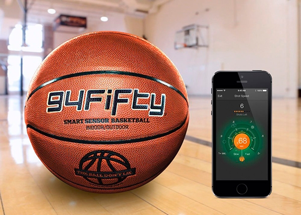 94Fifty Smart Sensor Bascketball. Բասկետբոլի «խելացի»  գնդակ