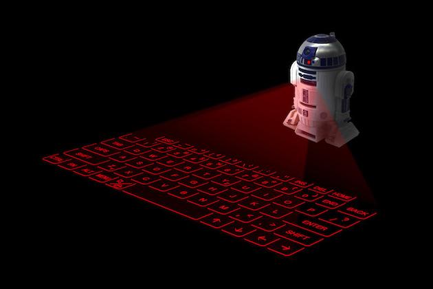 Վիրտուալ ստեղնաշար R2-D2-ի կողմից