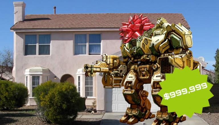 Միլիոն դոլար արժողությամբ հսկայական մարտական ռոբոտ