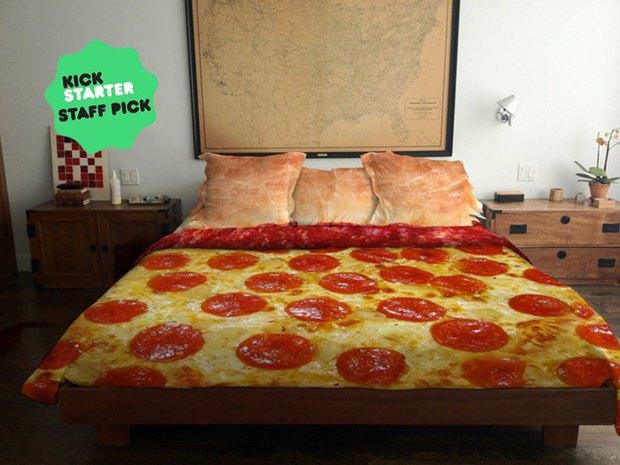 Kickstarter հարթակում պիցցա-անկողնու նախագիծ է ներկայացվել