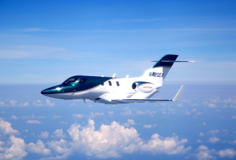 Honda-ն փորձարկել է իր առաջին ինքնաթիռը