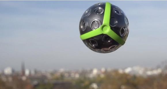 Panono. Պանորամային գնդակ-տեսախցիկ