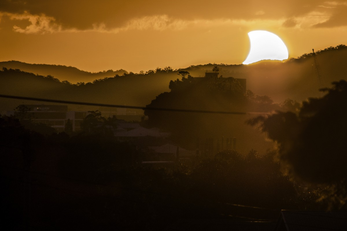 Այս տարվա առաջին արևի խավարումը CJ Armitage-ի կողմից