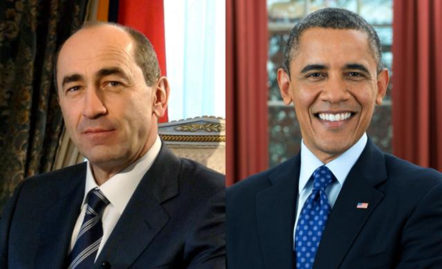 Նախագահները GYM-ում. Ռոբերտ Քոչարյան vs Բարաք Օբամա