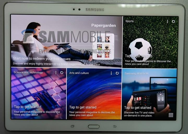 Galaxy Tab S. Նոր պլանշետներ Samsung-ի կողմից