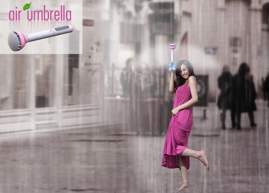 Air Umbrella. օդային անձրևանոց
