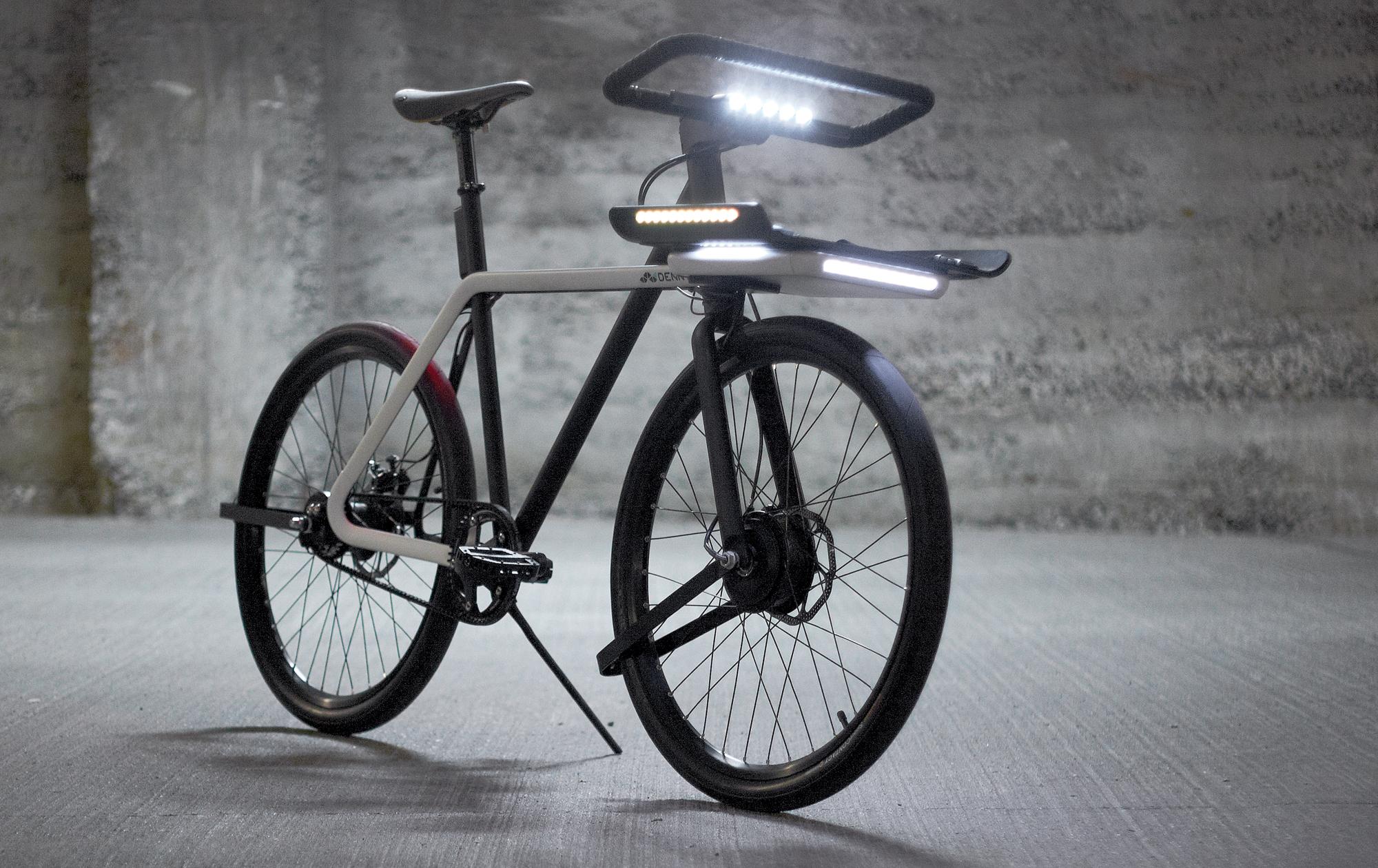 Denny. «խելացի» ֆունկցիաներով հագեցած հեծանիվ