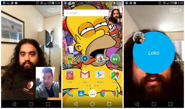 Skype-ն Android սմարթֆոններում գործարկել է «լողացող պատուհանի» ֆունկցիան