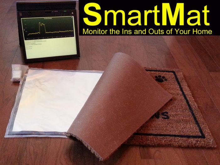 SmartMat խելացի կարպետը կհետևի Ձեր տան մուտք ու ելքին