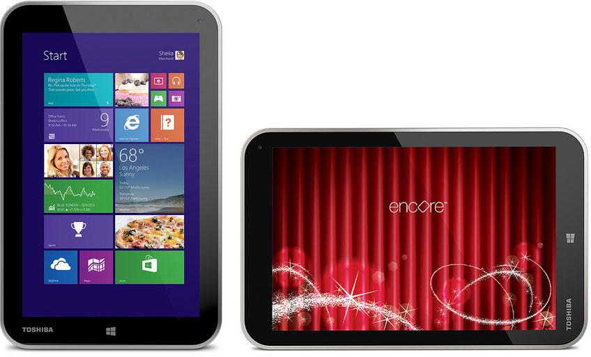 Toshiba Encore. Windows 8.1 հիմքով պլանշետ