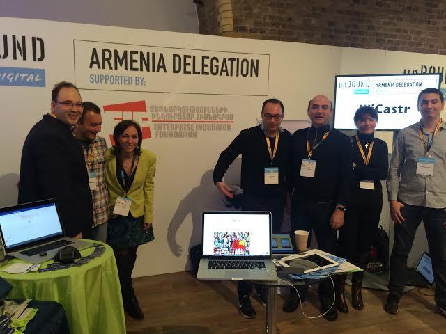 Հայաստանն առաջին անգամ մասնակցել է unBound Digital 2014  միջազգային տեխնոլոգիական համաժողովին