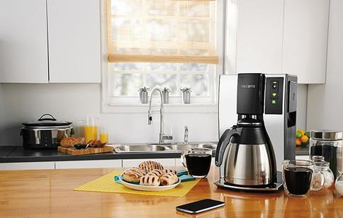 Mr. Coffee. Wi-Fi մոդուլով խելացի սրճեփ