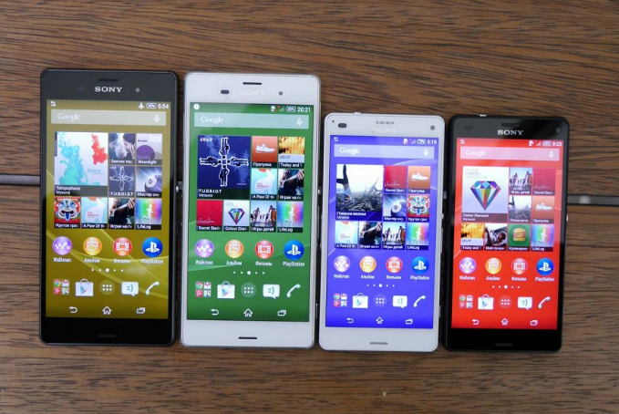 Sony-ն ներկայացրել է Xperia Z3 սմարթֆոնների ու պլանշտների շարքը