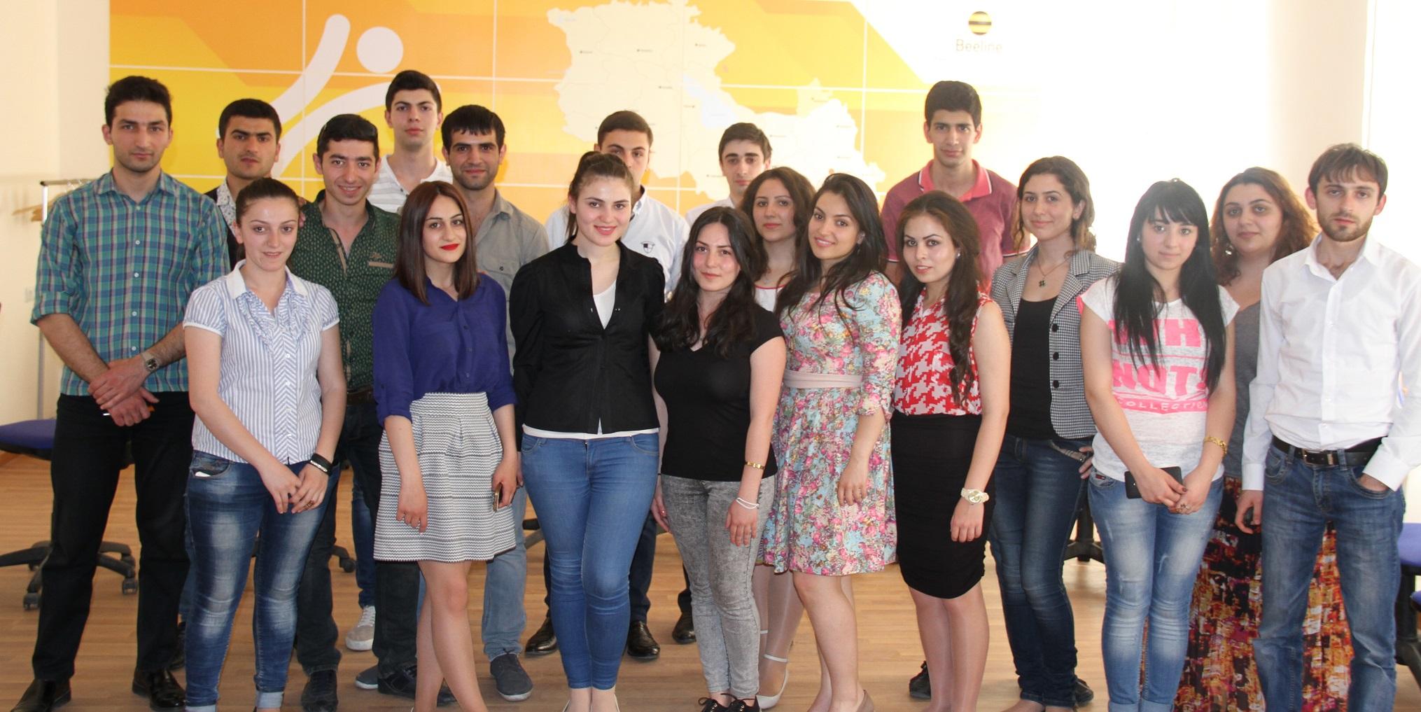 Տարածքային վաճառքների մենեջերներ. ուսանողների համար հարմար աշխատատեղեր Beeline-ում