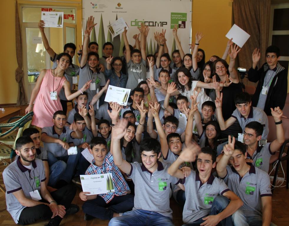 Beeline-ը և ԻՏՁՄ-ն պարգևատրեցին ԴիջիՔամփ ամառային երրորդ ճամբարի հաղթողներին