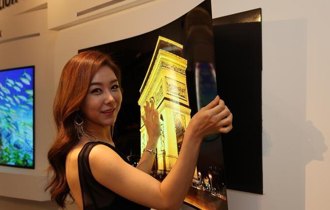 LG-ն 1մմ հաստությամբ հեռուստացույց է ստեղծել