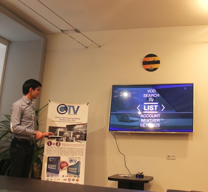 Beeline և CTV. IP հեռուստատեսություն դիտելու հնարավորություն՝ ամենուր, որտեղ կա ինտերնետ
