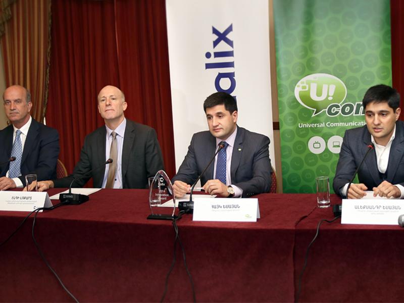 Ucom. արդյունավետ համագործակցություն Calix ընկերության հետ