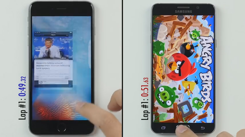 iPhone 6S Plus VS Samsung Galaxy Note 5, որն է ավելի արագ