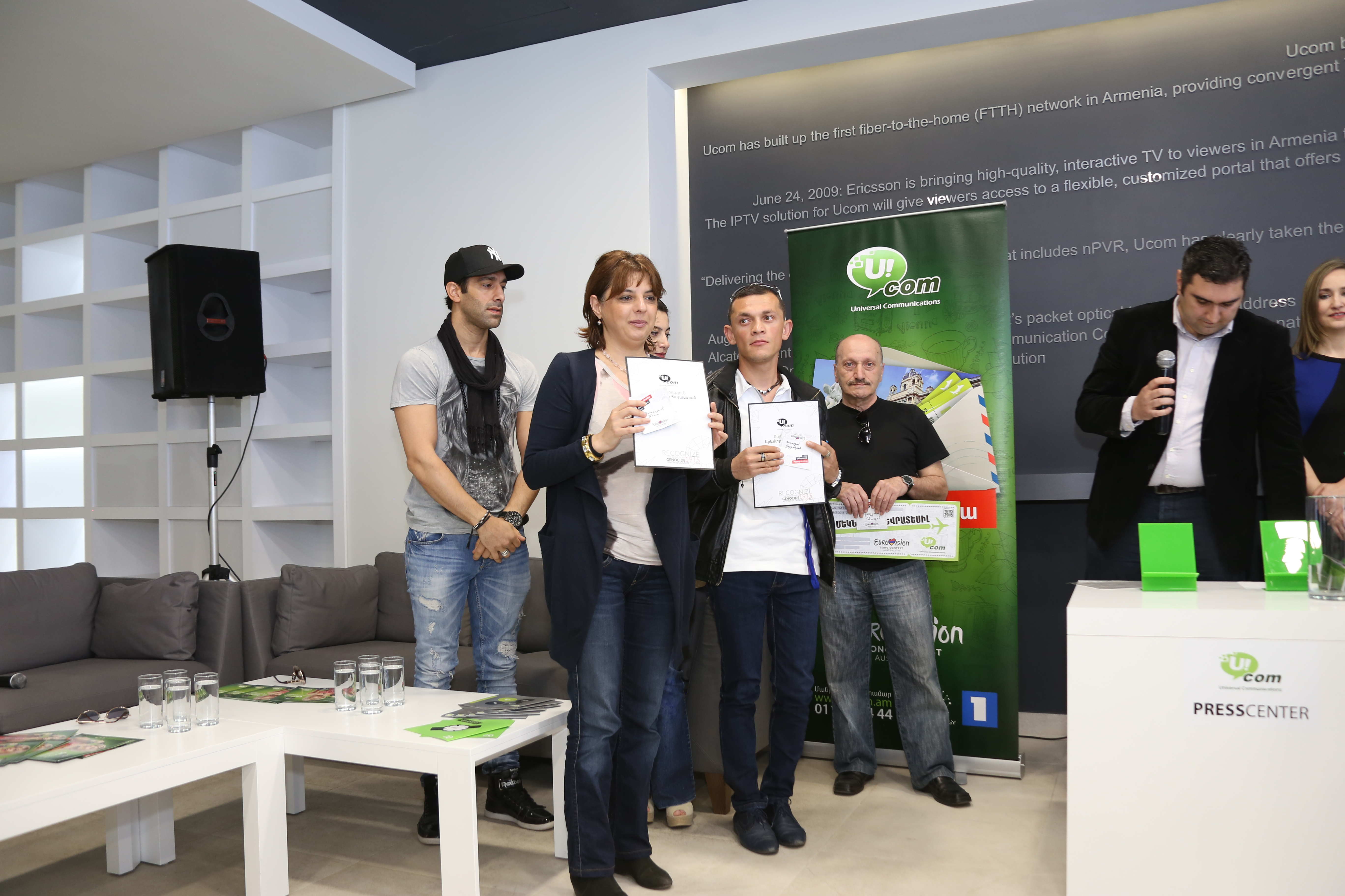 Ucom. երկու բաժանորդ կմեկնի Վիեննա` Եվրատեսիլ 2015 մրցույթին