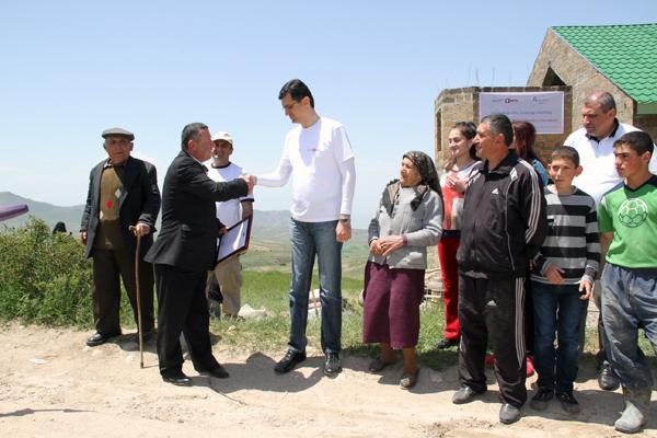 ՎիվաՍել-ՄՏՍ-ը և Հայաստանի «Ֆուլեր Տնաշինական Կենտրոնը» շարունակում են տներ կառուցել