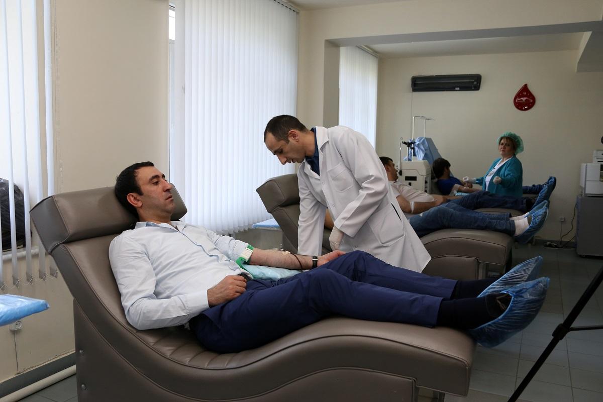 Ucom. արյուն՝ քաղցկեղով հիվանդ երեխաների համար