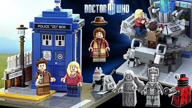 LEGO-ն ներկայացնում է «Doctor Who» նոր հավաքածուն