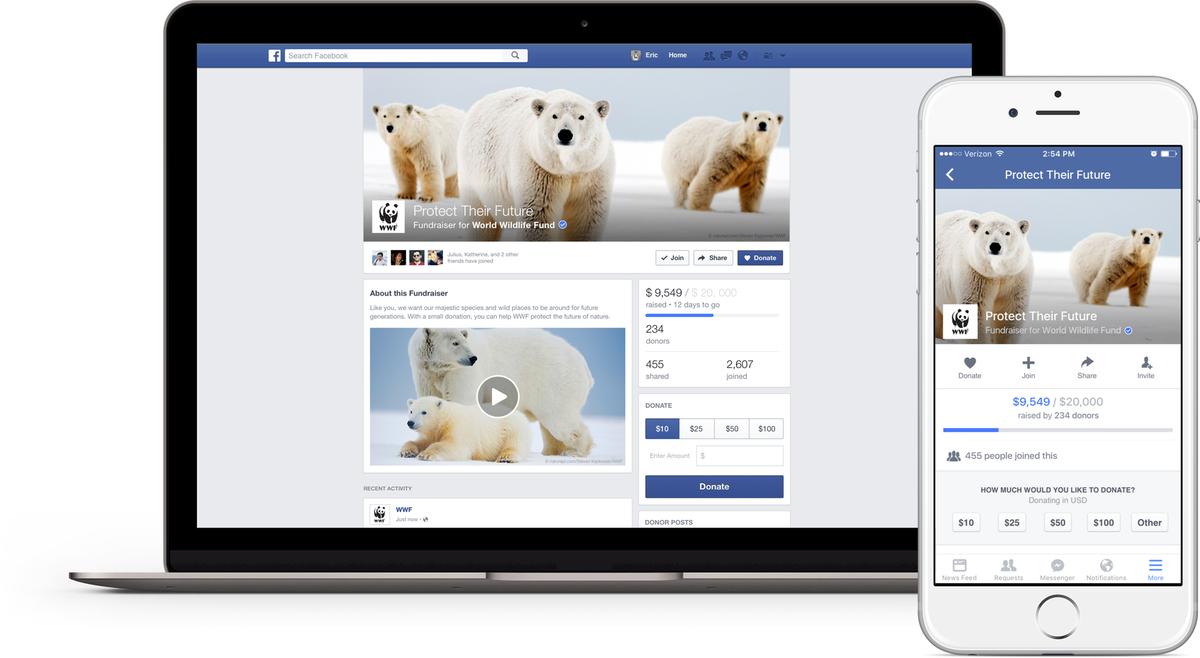 Facebook-ը դրամահավաքի գործառույթ կգործարկի