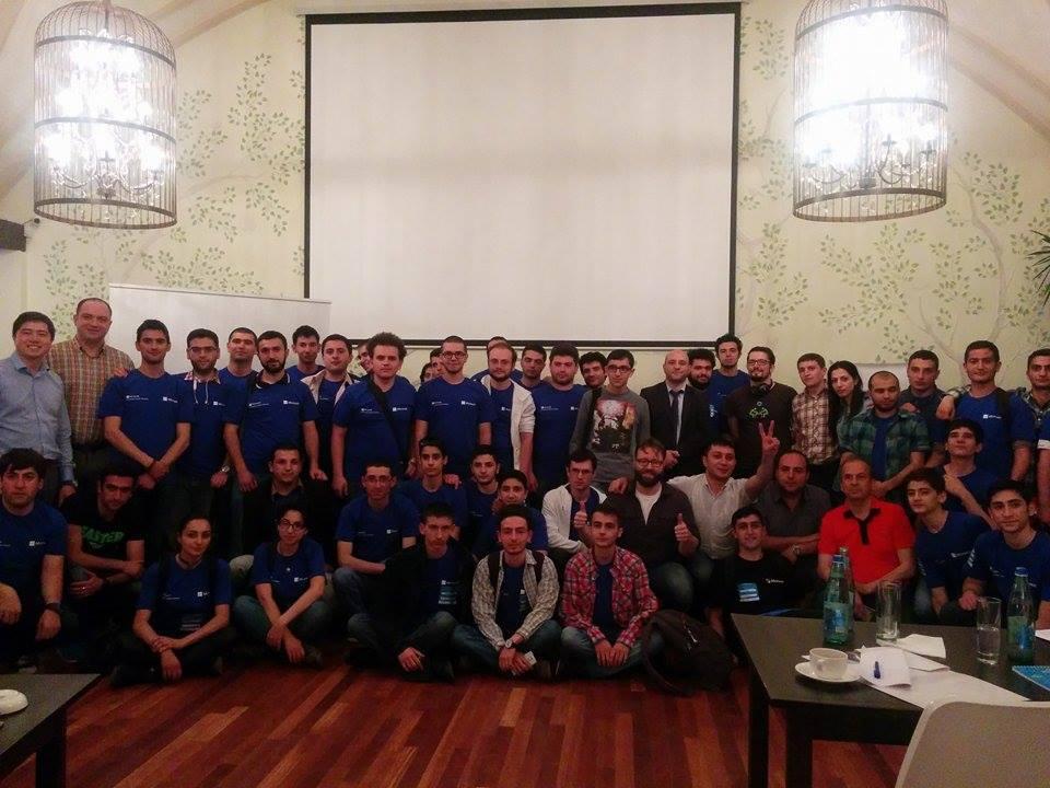 Ամպային Հեքըթոն [ՅԱՆ] 2015-ը և Seedstars Երևանը համախմբել են բազմաթիվ ծրագրավորողների և ստարտափների