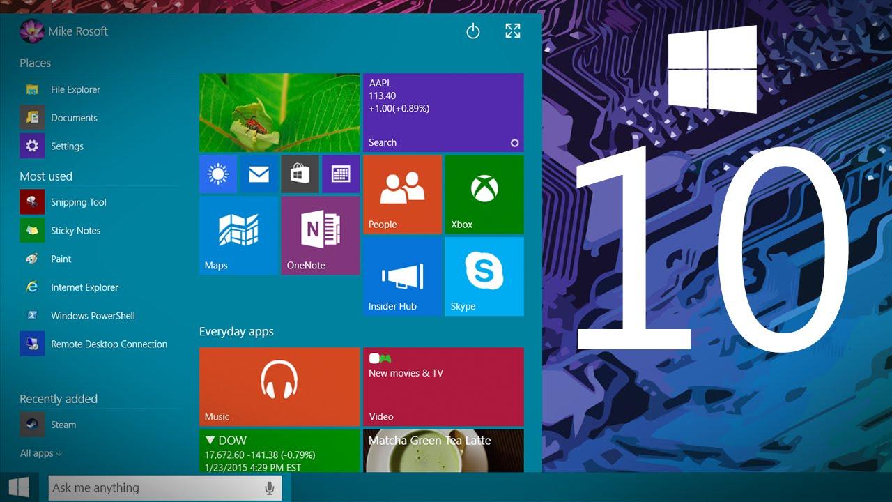 Microsoft-ը հրապարակել է Windows 10-ի թողարկման ամսաթիվը