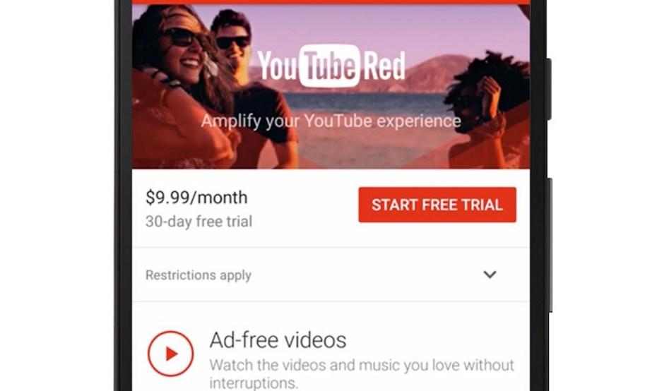 Google-ը գործարկում YouTube Red վճարովի ծառայությունը