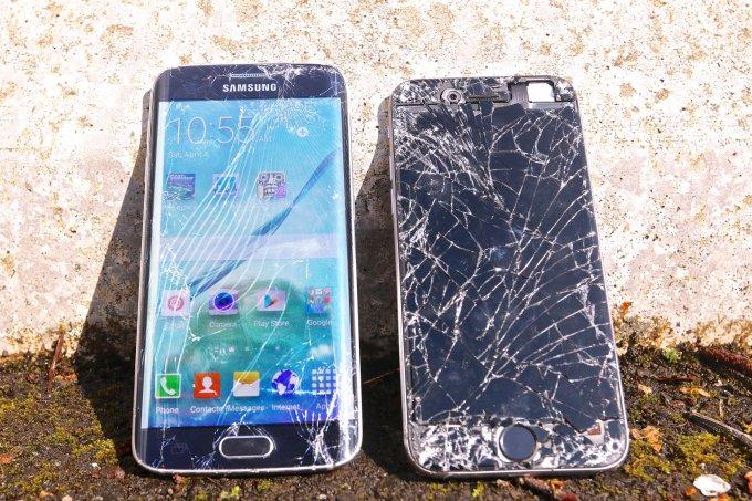 Galaxy S6 Edge և iPhone 6, որ սմարթֆոնն է ավելի դիմացկուն. տեսանյութ