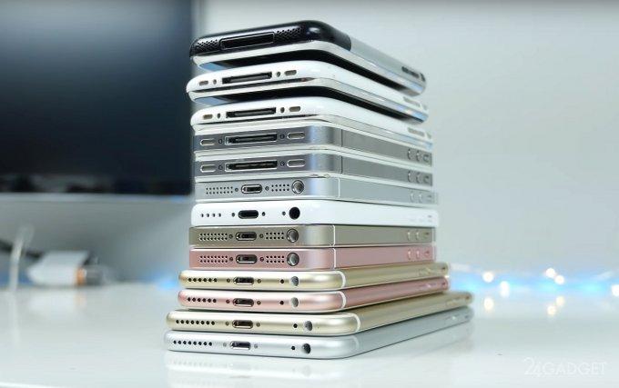 iPhone-ի բոլոր մոդելների համեմատությունը / տեսանյութ