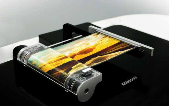 Samsung-ը ճգվող դիսփլեյ է ցուցադրել