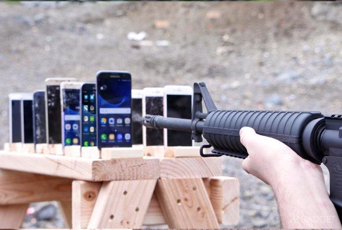 Որ սմարթֆոններն են ավելի լավ դիմակայում փամփուշտներին՝ Apple, թե Samsung / տեսանյութ