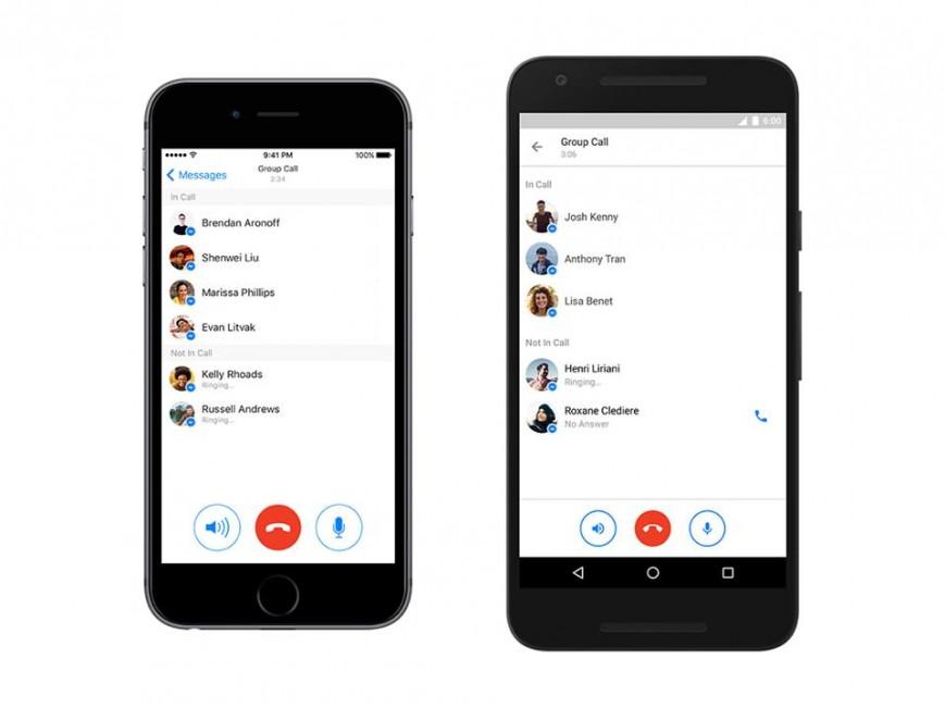 Facebook Messenger-ում գործարկվել է խմբային զանգերի գործառույթը