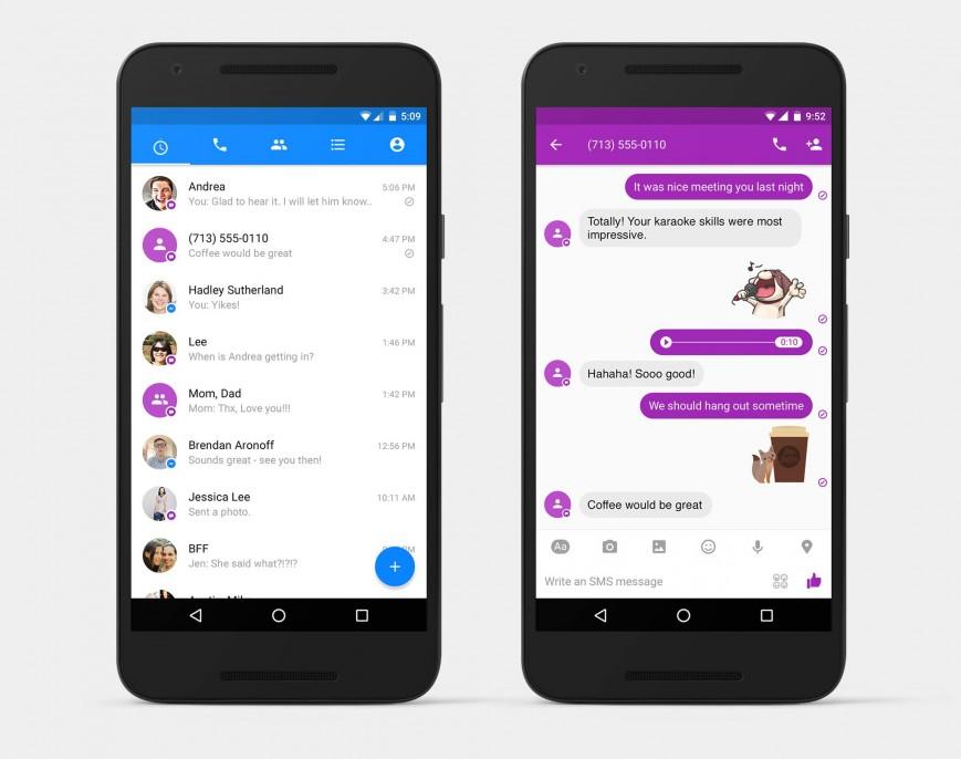 Facebook Messenger-ի միջոցով Android սմարթֆոնների օգտատերերն այսուհետ կարող են SMS-ներ ուղարկել