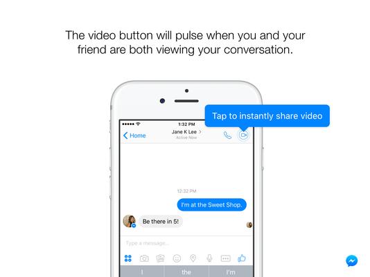 Facebook Messenger հարթակը գործարկել է ակնթարթային տեսանյութ գործառույթը